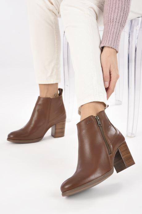 Bottines et boots TBS Rosalia Marron vue bas / vue portée sac