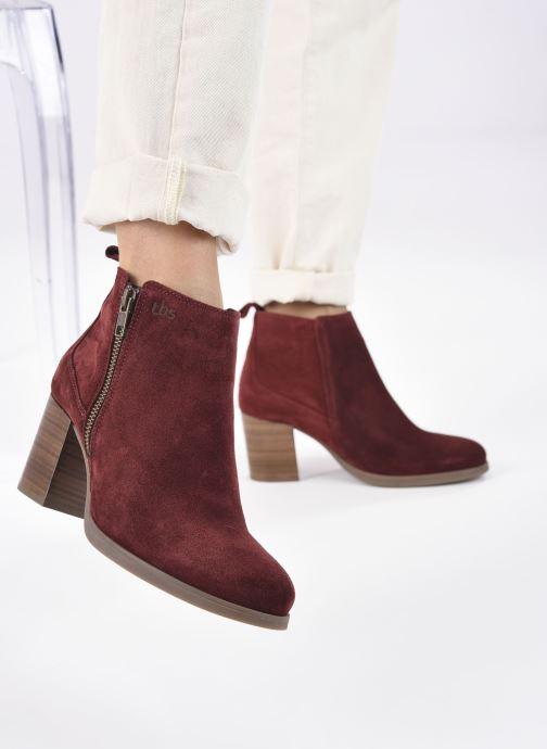 Stiefeletten & Boots TBS Rosalia rot ansicht von unten / tasche getragen