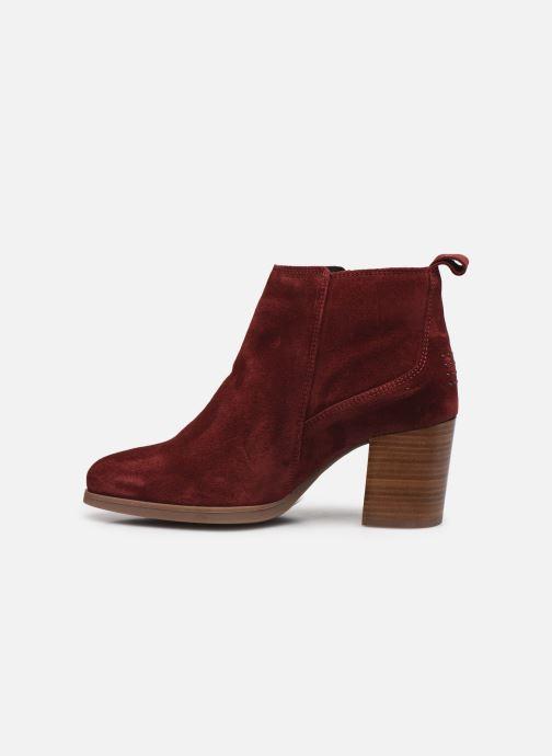 Stiefeletten & Boots TBS Rosalia rot ansicht von vorne