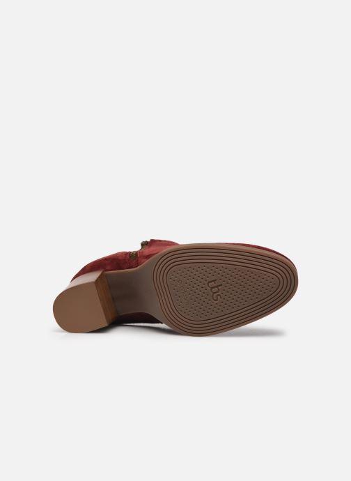 Stiefeletten & Boots TBS Rosalia rot ansicht von oben