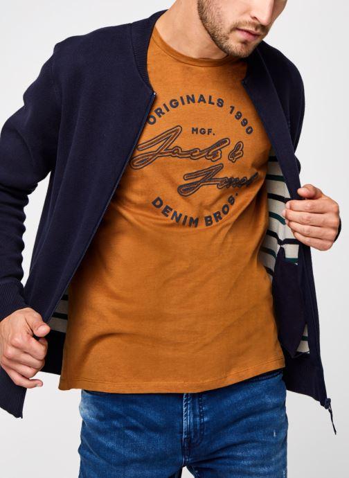 Tøj Accessories Jorkick Knit Baseball Cardigan