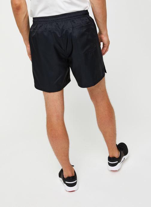 Vêtements Nike M Nsw Sce Short Wvn Flow Noir vue portées chaussures