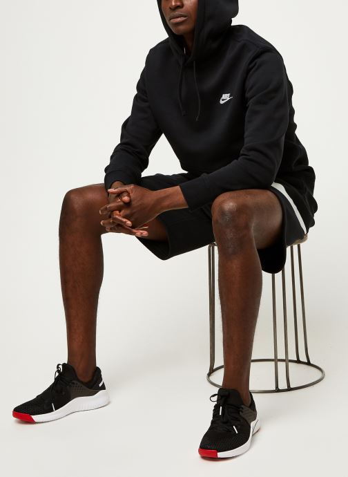 Vêtements Nike M Nsw Club Hoodie Po Bb Noir vue bas / vue portée sac