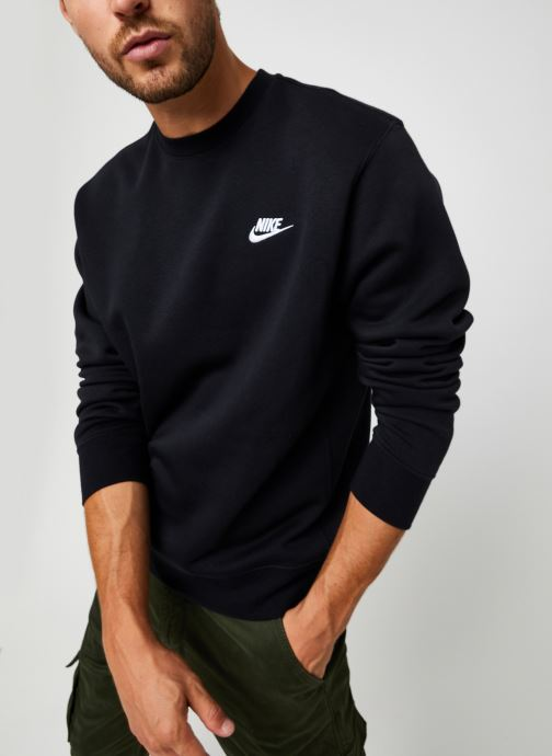 Vêtements Nike M Nsw Club Crw Bb Noir vue détail/paire