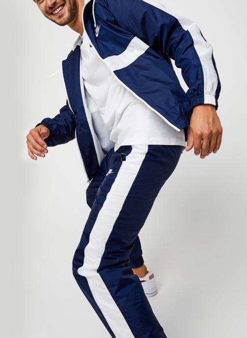 Vêtements Nike M Nsw Sce Trk Suit Hd Wvn Bleu vue détail/paire