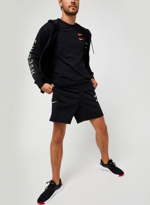 Vêtements Nike M Nsw Swoosh Hoodie Fz Sbb Noir vue bas / vue portée sac