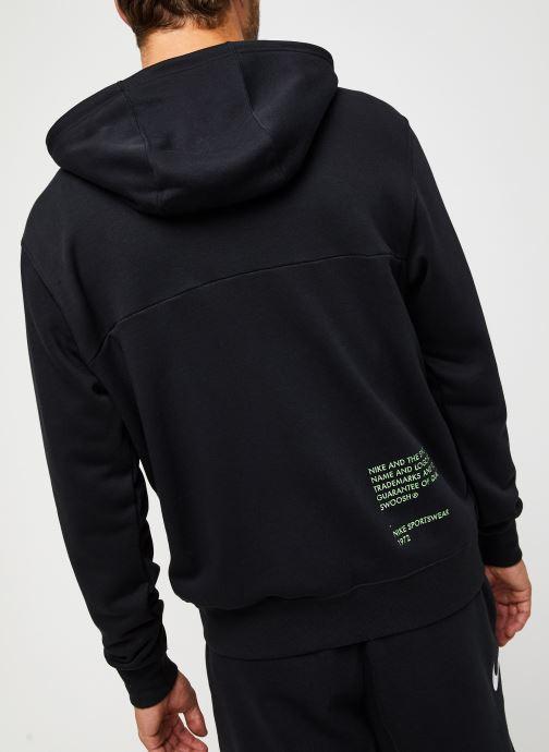Vêtements Nike M Nsw Swoosh Hoodie Fz Sbb Noir vue portées chaussures