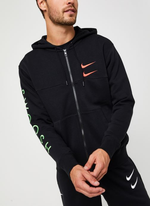 Vêtements Nike M Nsw Swoosh Hoodie Fz Sbb Noir vue droite