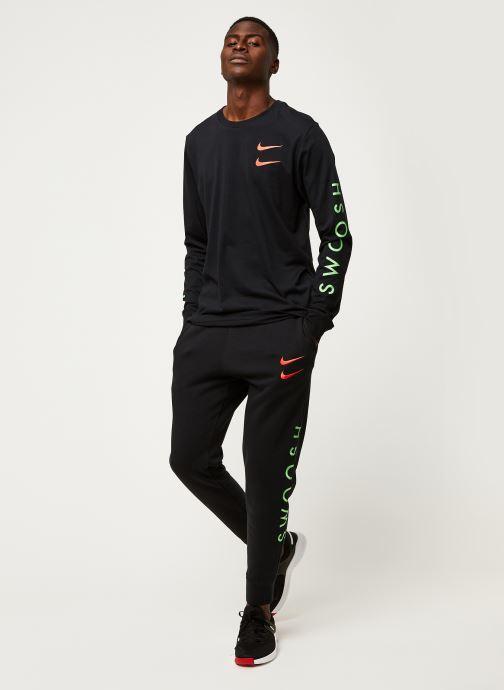 Vêtements Nike M Nsw Swoosh Pant Sbb Noir vue bas / vue portée sac
