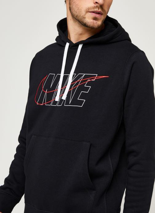 Vêtements Nike M Nsw Ce Trk Suit Hd Flc Gx Noir vue face