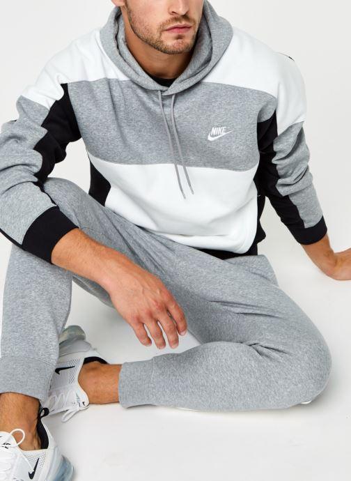 Vêtements Nike M Nsw Hoodie Po Bb Cb Gris vue détail/paire