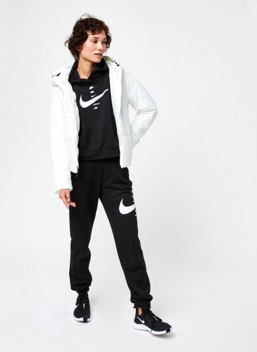 Vêtements Nike W Nsw Syn Fill Jkt Hd Blanc vue bas / vue portée sac
