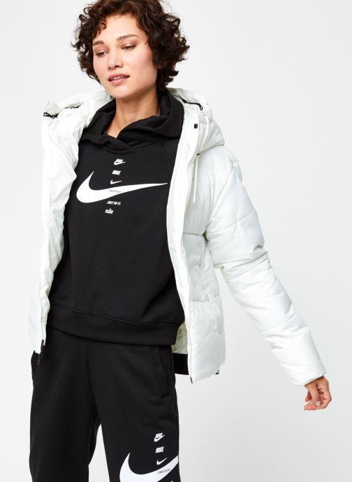 Vêtements Nike W Nsw Syn Fill Jkt Hd Blanc vue détail/paire