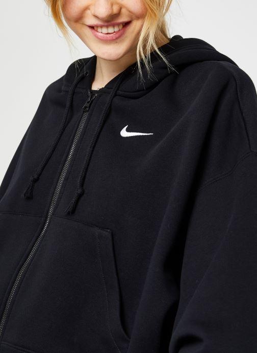 Vêtements Nike W Nsw Fz Flc Trend Noir vue face