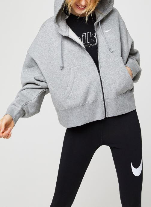 Sweatshirt hoodie - W Nsw Fz Flc Trend