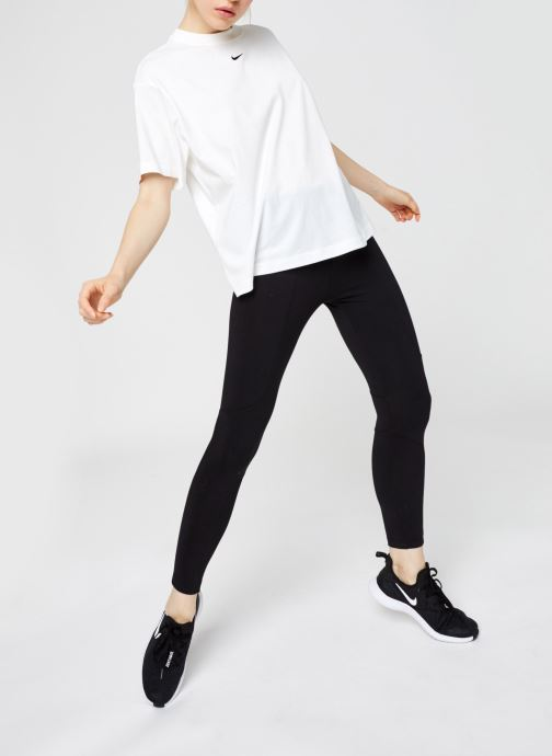 Vêtements Nike W Nsw Essntl Top Ss Bf Blanc vue bas / vue portée sac