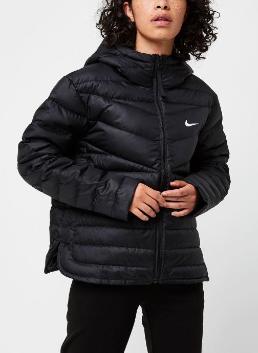 Vêtements Nike W Nsw Wr Lt Wt Dwn Jkt Noir vue droite