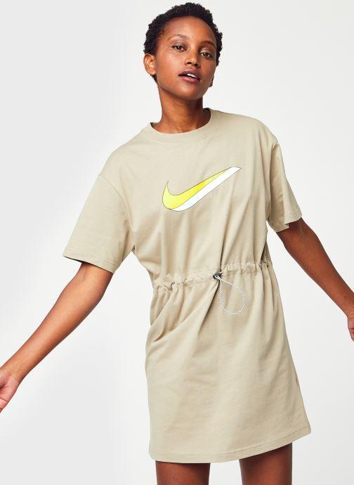 Abbigliamento Nike W Nsw Icn Clsh Dress Ss Marrone vedi dettaglio/paio