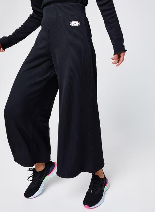 Vêtements Nike W Nsw Pant Rib Femme Noir vue détail/paire