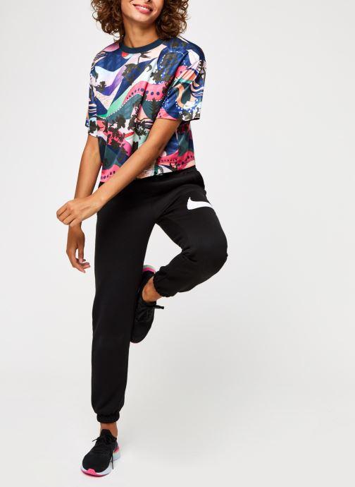 Vêtements Nike W Nsw Swsh Pant Flc Bb Noir vue bas / vue portée sac