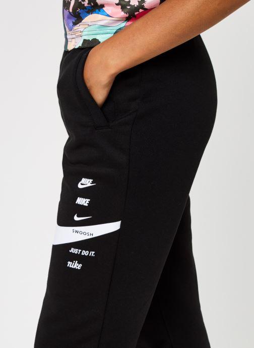 Vêtements Nike W Nsw Swsh Pant Flc Bb Noir vue face