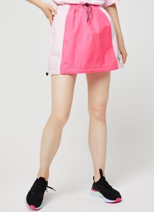 Vêtements Nike W Nsw Icn Clsh Skirt Wvn Rose vue détail/paire
