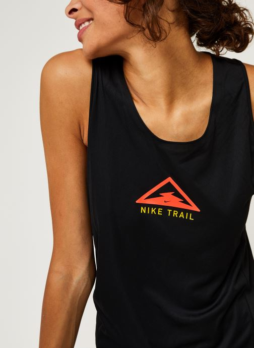 Vêtements Nike W Nk City Sleek Tank Trail Noir vue face