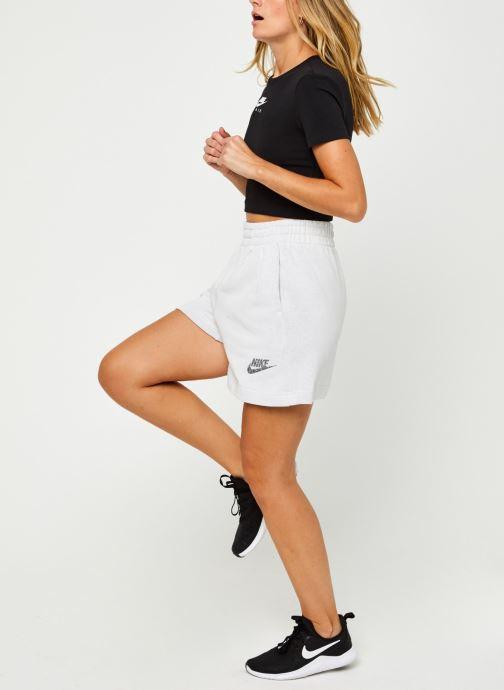 Vêtements Nike W Nsw Short Ft M2Z Gris vue bas / vue portée sac