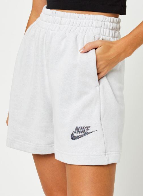 Vêtements Nike W Nsw Short Ft M2Z Gris vue face