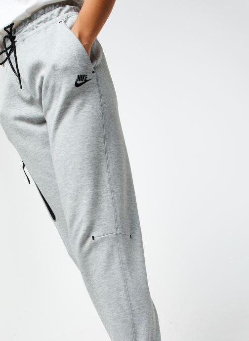 Vêtements Nike W Nsw Tch Flc Pant Hr Gris vue face