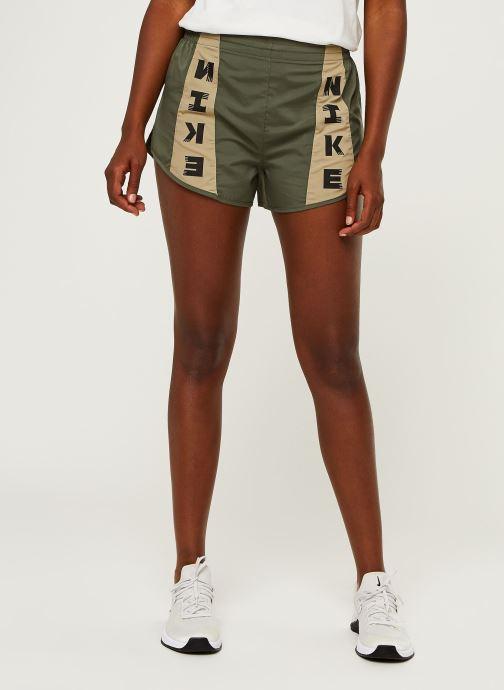 Vêtements Nike W Nk Icnclsh Tempo Lx Short Vert vue détail/paire