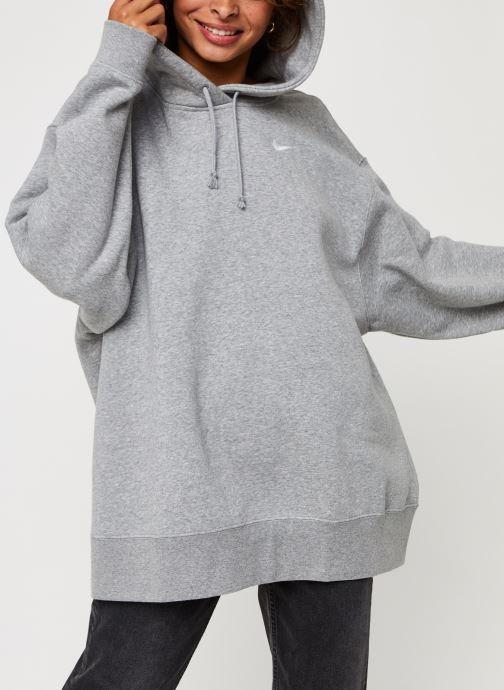 Sweatshirt hoodie - W Nsw Hoodie Flc Trend Plus