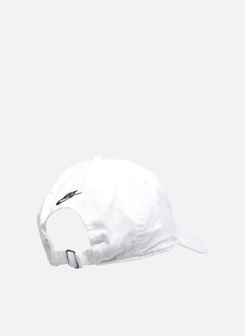 Cappellino Nike U Nsw H86 Cap Jdi Wash Cap Bianco modello indossato