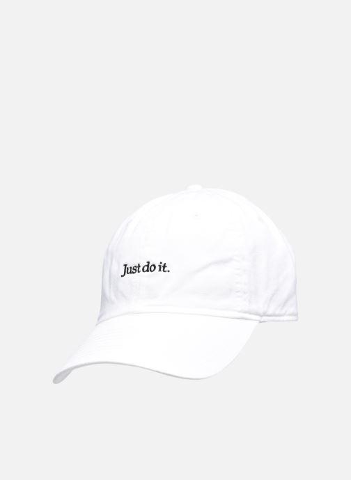 Kappe Nike U Nsw H86 Cap Jdi Wash Cap weiß ansicht von vorne