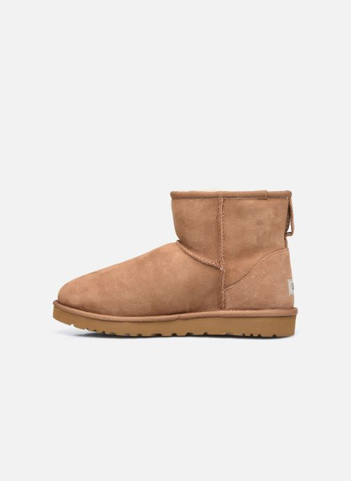 Botas UGG Classic Mini Men Marrón vista de frente
