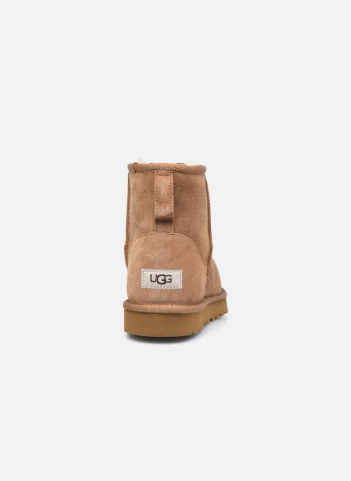 Botas UGG Classic Mini Men Marrón vista lateral derecha