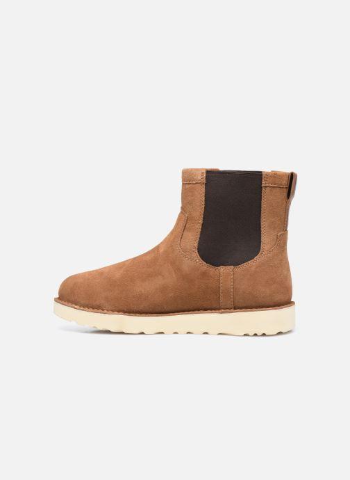 Boots en enkellaarsjes UGG Campout Chelsea Bruin voorkant