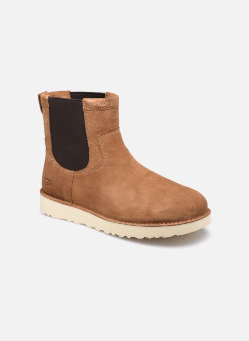 Boots en enkellaarsjes UGG Campout Chelsea Bruin detail