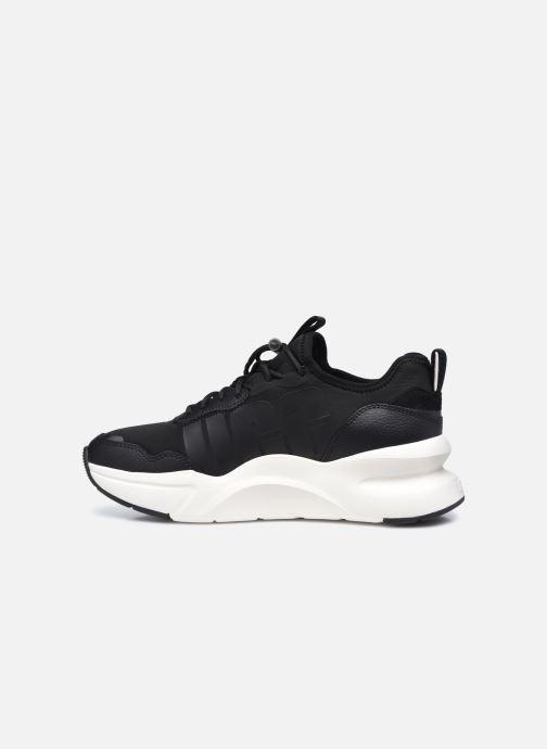 Sneaker UGG LA Daze schwarz ansicht von vorne