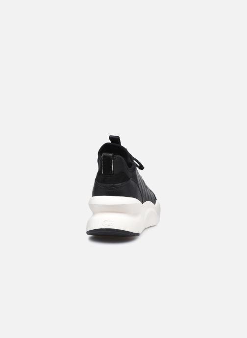 Sneaker UGG LA Daze schwarz ansicht von rechts
