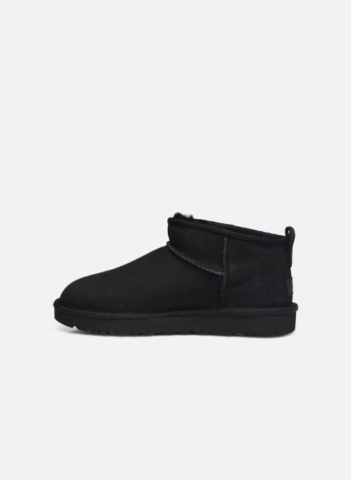Stiefeletten & Boots UGG Classic Ultra Mini schwarz ansicht von vorne