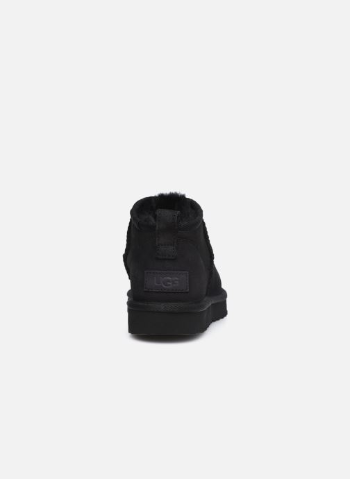 Stiefeletten & Boots UGG Classic Ultra Mini schwarz ansicht von rechts