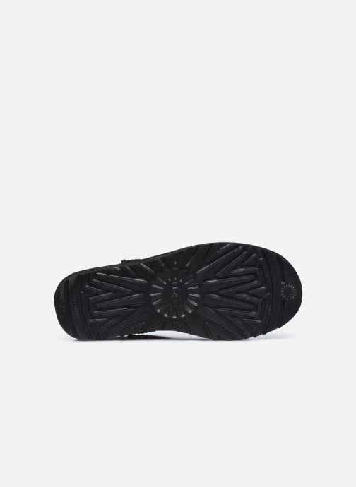 Stiefeletten & Boots UGG Classic Ultra Mini schwarz ansicht von oben