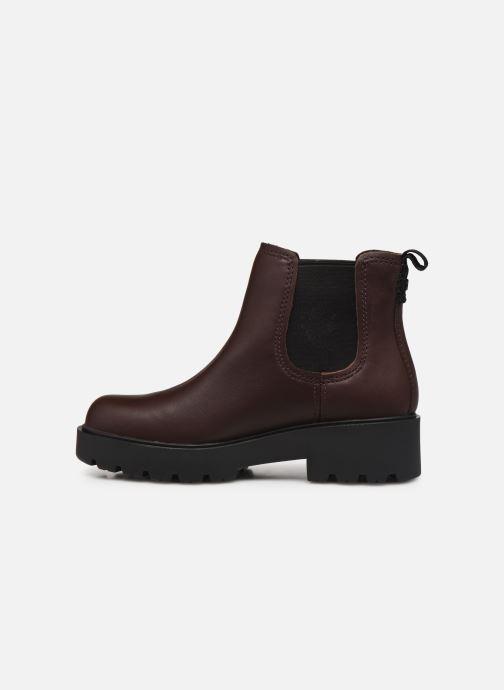 Bottines et boots UGG Markstrum Bordeaux vue face