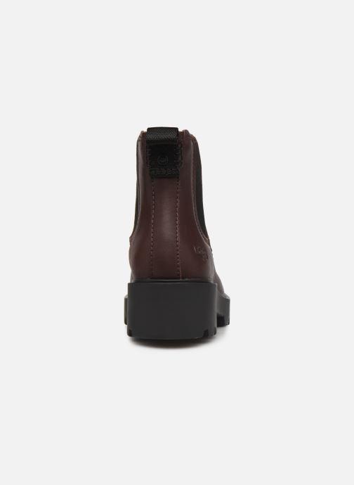 Bottines et boots UGG Markstrum Bordeaux vue droite