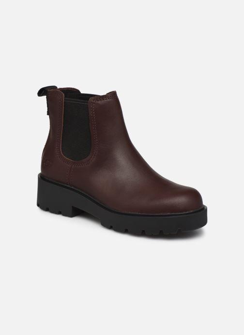 Bottines et boots UGG Markstrum Bordeaux vue détail/paire