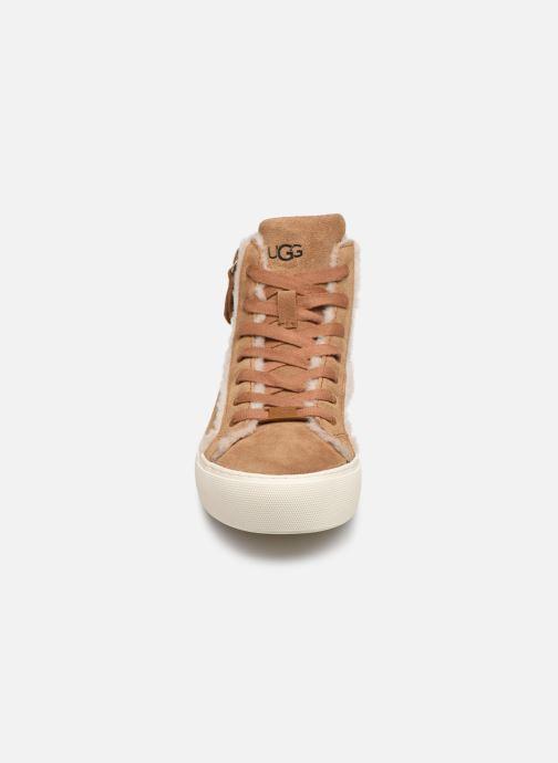 Sneaker UGG Olli Heritage braun schuhe getragen