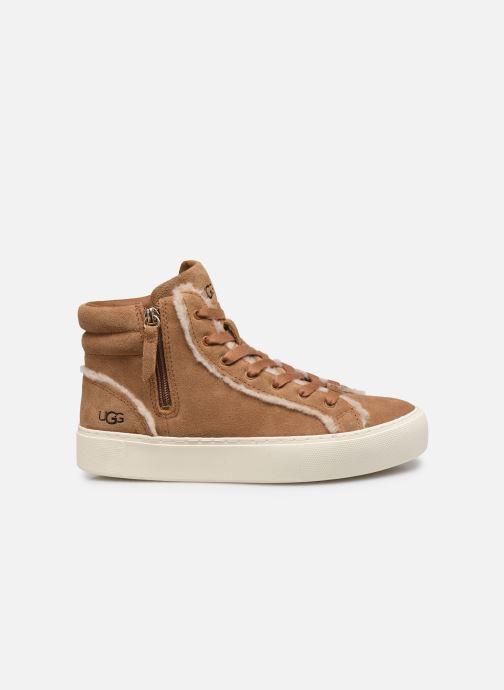 Sneaker UGG Olli Heritage braun ansicht von hinten
