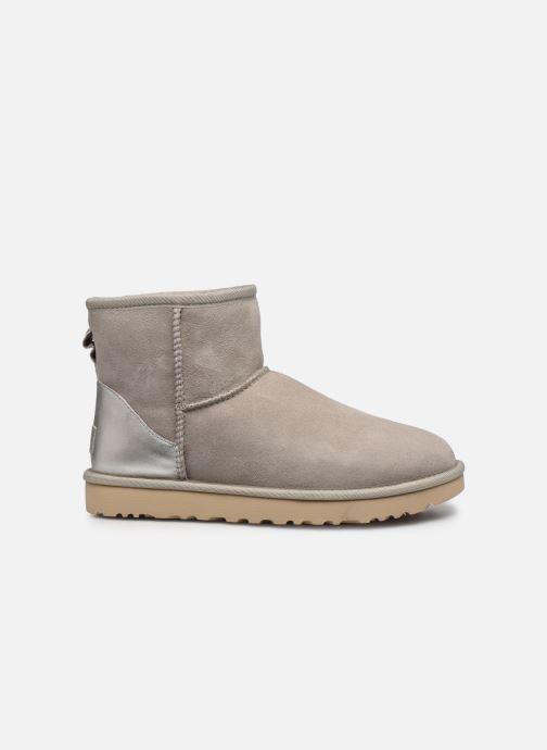 Stiefeletten & Boots UGG Classic Mini II Metallic grau ansicht von hinten