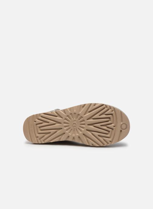 Stiefeletten & Boots UGG Classic Mini II Metallic grau ansicht von oben
